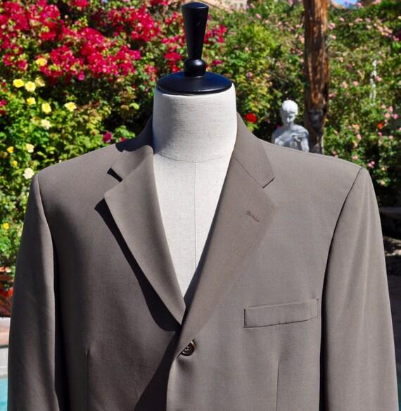 Men's J. Ferrar Wool and Nylon Blazer Sz 45R