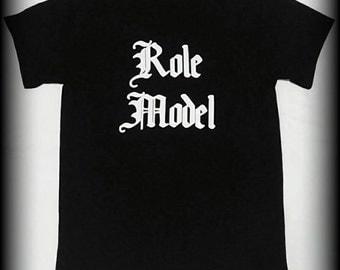 Role Model t-shirt, role model, tattoo tshirt, S, M, L, XL