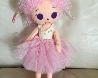 Ballerina Felt doll