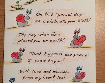 Birthday Card - This Special Day