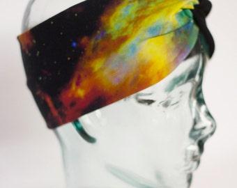 Galaxy Space Turban Knot Headband
