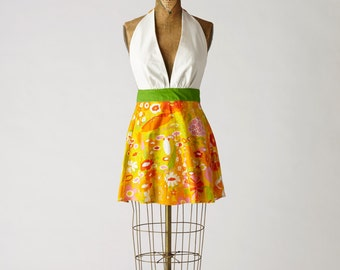 Womens Apron Sexy Marilyn 70's Full Apron MOTHER'S DAY SALE