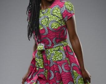 PINK Alice-in-wonderland dress by GITAS Portal