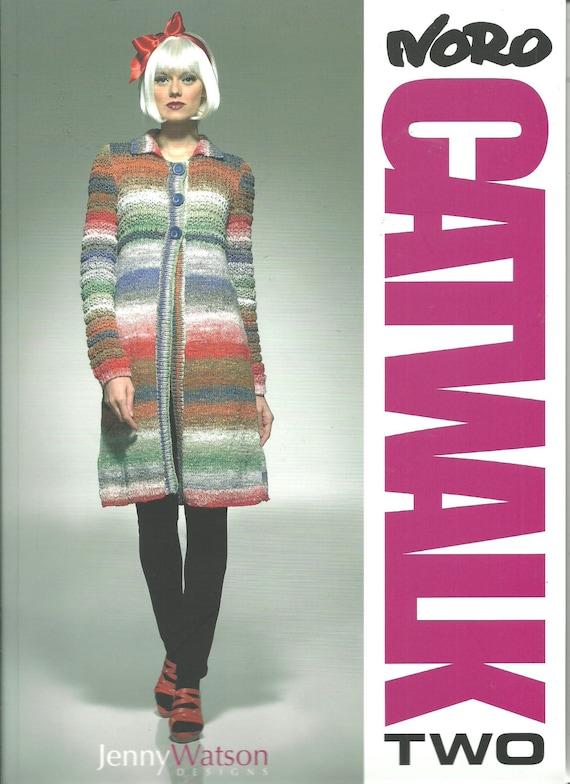 Knitting Jenny Review : New noro catwalk two by jenny watson knitting pattern book