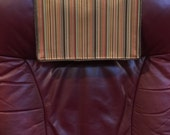 Items Similar To Recliner Chair Headrest Cover Striped