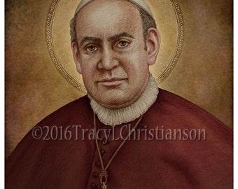 St. Anthony Mary Claret Art Print, Catholic Patron Saint #4275