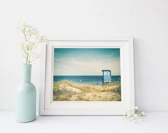 Beach art photography, beach print decor, coastal wall art, nautical wall decor, beach photography wall art, beach house wall print, ocean