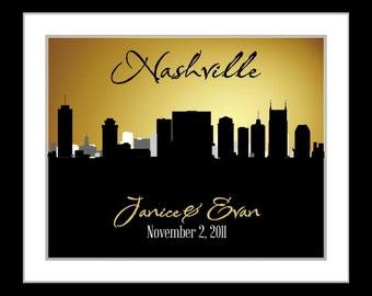 Nashville Wall Art nashville art | etsy