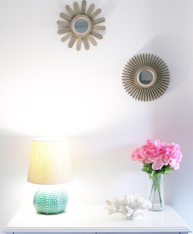 Large Decorative White Coral Nautical Home Decor Accent