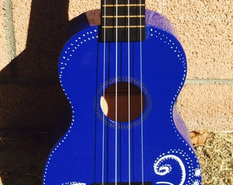 Handpainted Ukulele by Quirkulele