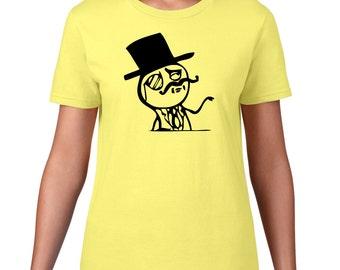 Meme Tshirt, Like A Sir Tshirt, Funny T Shirt, Meme Tee, Funny Tshirt, Rage Comic Tshirt, Meme T Shirt, Ringspun Cotton