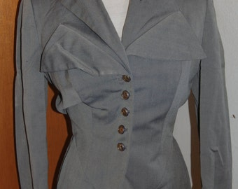 Irene of Hollywood fame suit jacket. 1940's