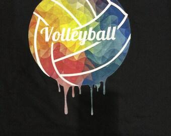 Volleyball Sweatshirt - Volleyball ColorTwist Sweatshirt - Unisex Sweatshirt