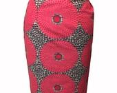 ASHAKA GIVENS African Print Pencil Skirt