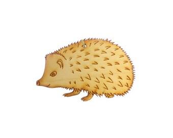 Hedgehog Ornament - Hedgehog Gifts - Hedgehog Ornaments - Hedgehog Gift - Hedgehog Decor - Hedgehog Accessories - Personalized Free