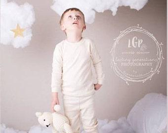 Handmade Crochet Teddy Bear / Photo Prop Amigurumi Vintage Style / Perfect Baby Shower Gift / under 50