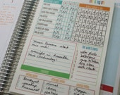 Laminated: Homemaking Dashboard | Planner Insert