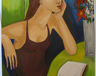 Modern figurative painting
