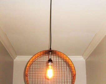 Wire Mesh Pendant Light- Lighting, Pendant Lighting, Rustic, Industrial