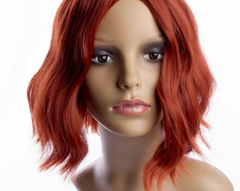 Custom Made Black Widow wig, The Avengers