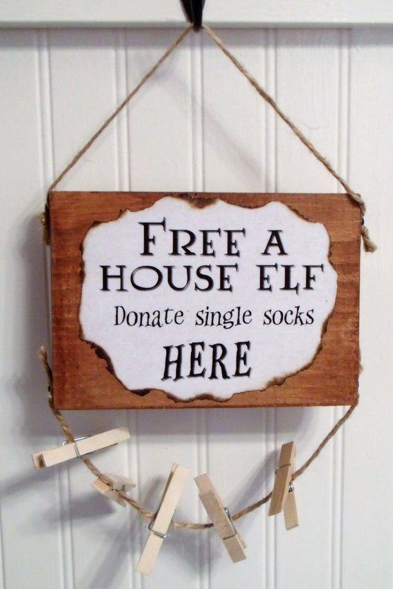 Free a House Elf Sign | Harry Potter Gifts