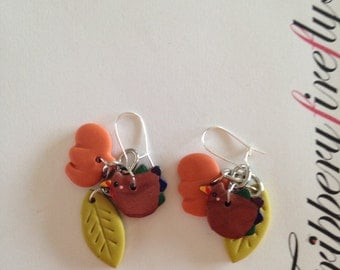 Thanksgiving Dangle Earrings