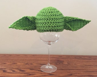 Star Wars Yoda Baby Hat