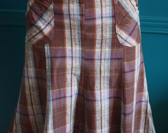 Skirt style vintage year 1940-1950 a tile