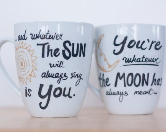 Wedding Gift Sets For Couples : Gifts-Couples Mug Set-Unique Wedding Gift For Couple-Cute Couples Gift ...