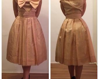 Authentic Gigi Young Bridal Swing Dress
