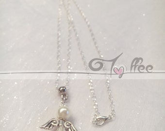 #AngiolettoDiAlice necklace with silver cone robe with classic clasp