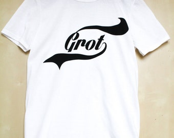 GROT printed graphic t-shirt