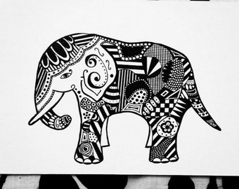 Inspired Art; Elephant