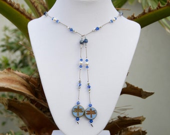 Dragonfly Lariat Necklace