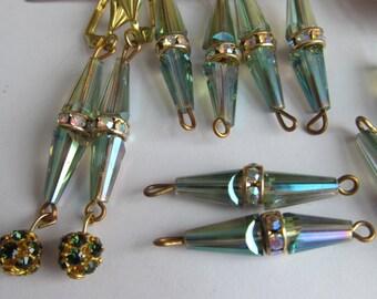 Swarovski Rhinestone Roundel Crystal Beads