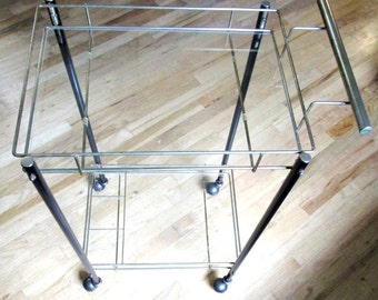 Art Deco Style Rectangular Bar Cart