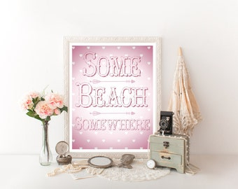 Beach Decor, Beach Art, Beach, Beach Sign, Beach Printable, Beach Quote Beach Digital Download Beach Sign Decor Beach Print Beach House 0008