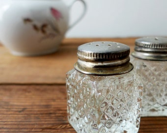 Vintage Mini Salt & Pepper Shakers