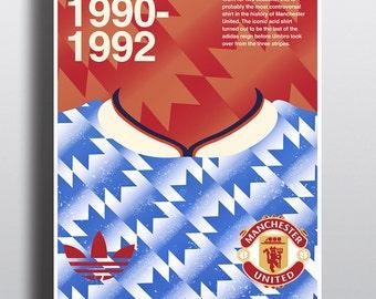 Manchester United Acid away shirt