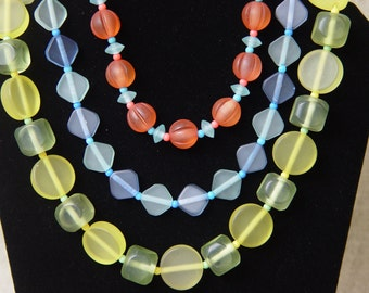 Candy Resin Necklace