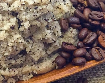 Coffee Body Polish, Coffee Body Scrub, Vegan Coffee Sugar Scrub, Coffee Lovers, Gifts For Her, Spa, Whipped Sugar Scrub