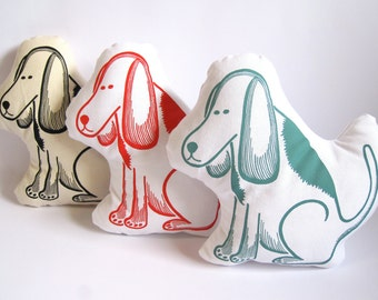 Woof Doggy Cushion