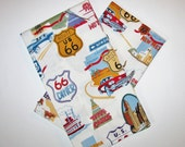 Route 66 Kitchen Linens