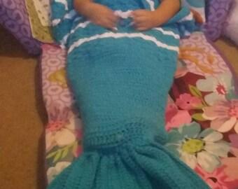 Crochet Mermaid Tail,Mermaid Blanket