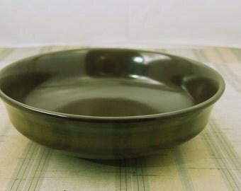 Vintage Franciscan Madeira Serving Vegetable Bowl Green Brown