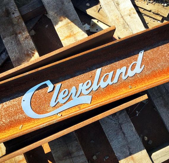 Cleveland Script wall art