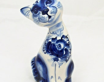 RUSSIAN GZHEL Porcelain Figurine CAT #0131