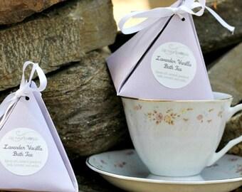 Aromatherapy Bath Tea - Lavender Vanilla