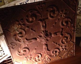 Antique Tin Ceiling Tile