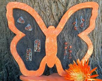 Earring Holder Butterfly - Butterfly Earrings Stand - Girls Earring Holder - Kids Earring  Holder - Jewelry Organizer - Jewelry Tree Stand